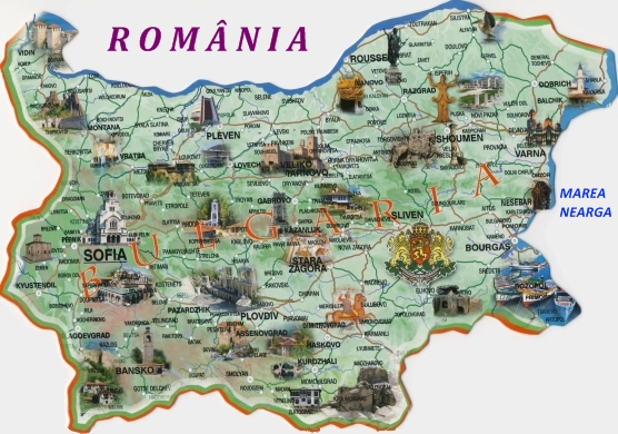 Contabil Srl Harta Bulgariei