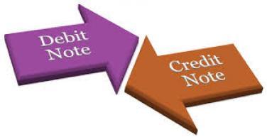 Nota de debit si credit